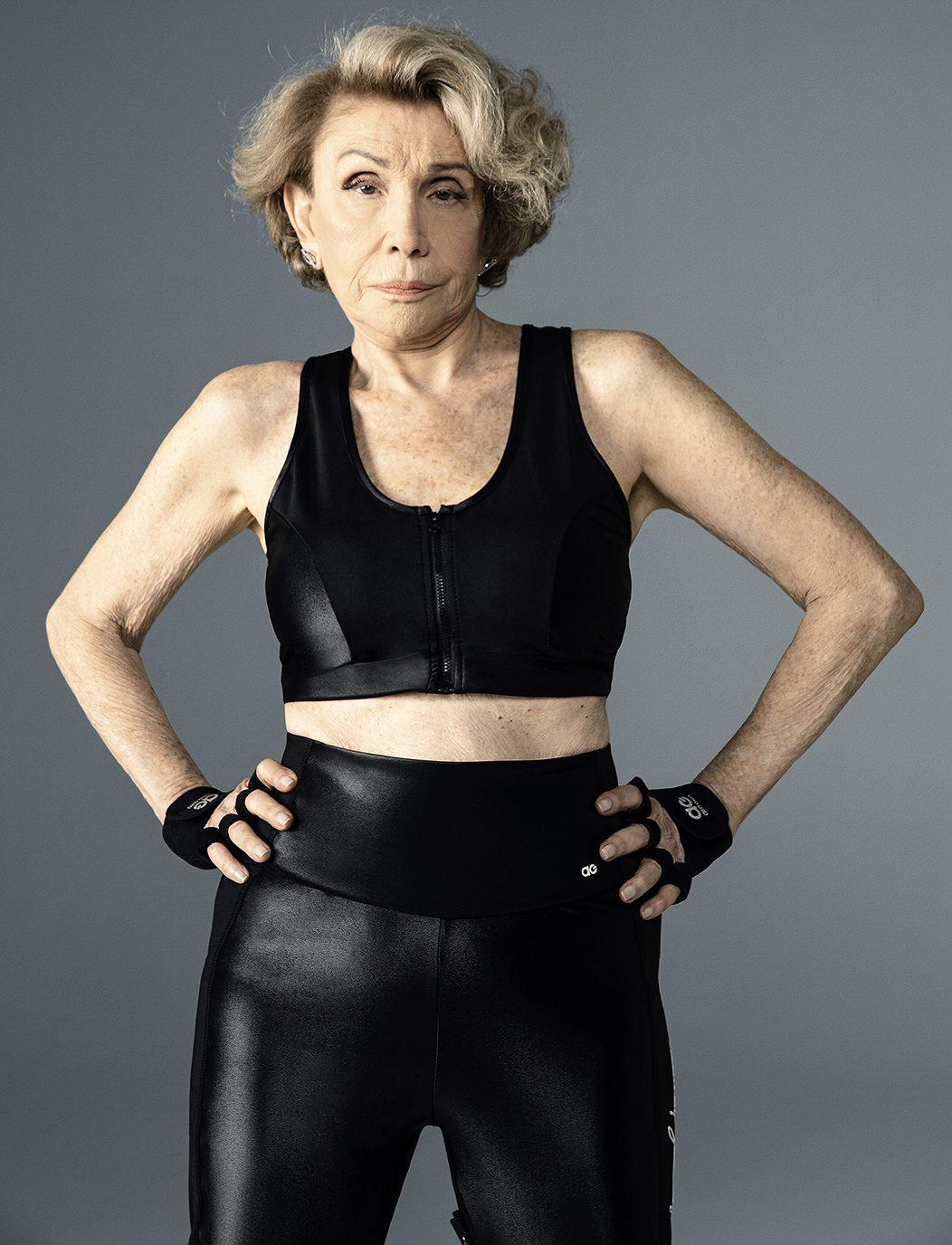 Alto Giro e Helena Schargel lançam coleção fitness para mulheres com mais de 60 anos